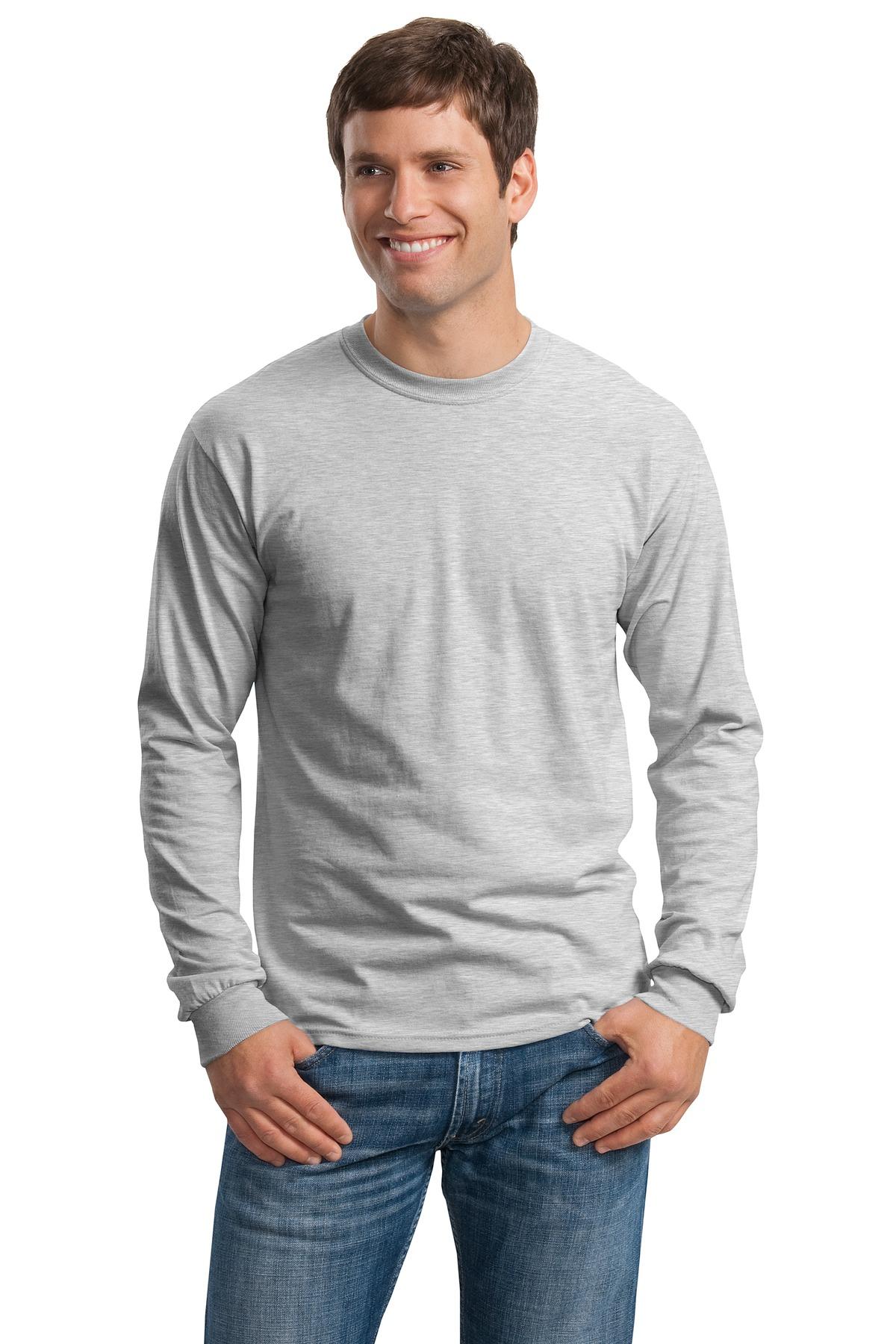 fdf7295d2ff1 Gildan ® – Ultra Cotton ® 100% Cotton Long Sleeve T-Shirt. G2400 ...
