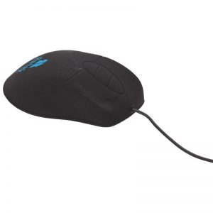 Black Antimicrobial-Washable Mouse