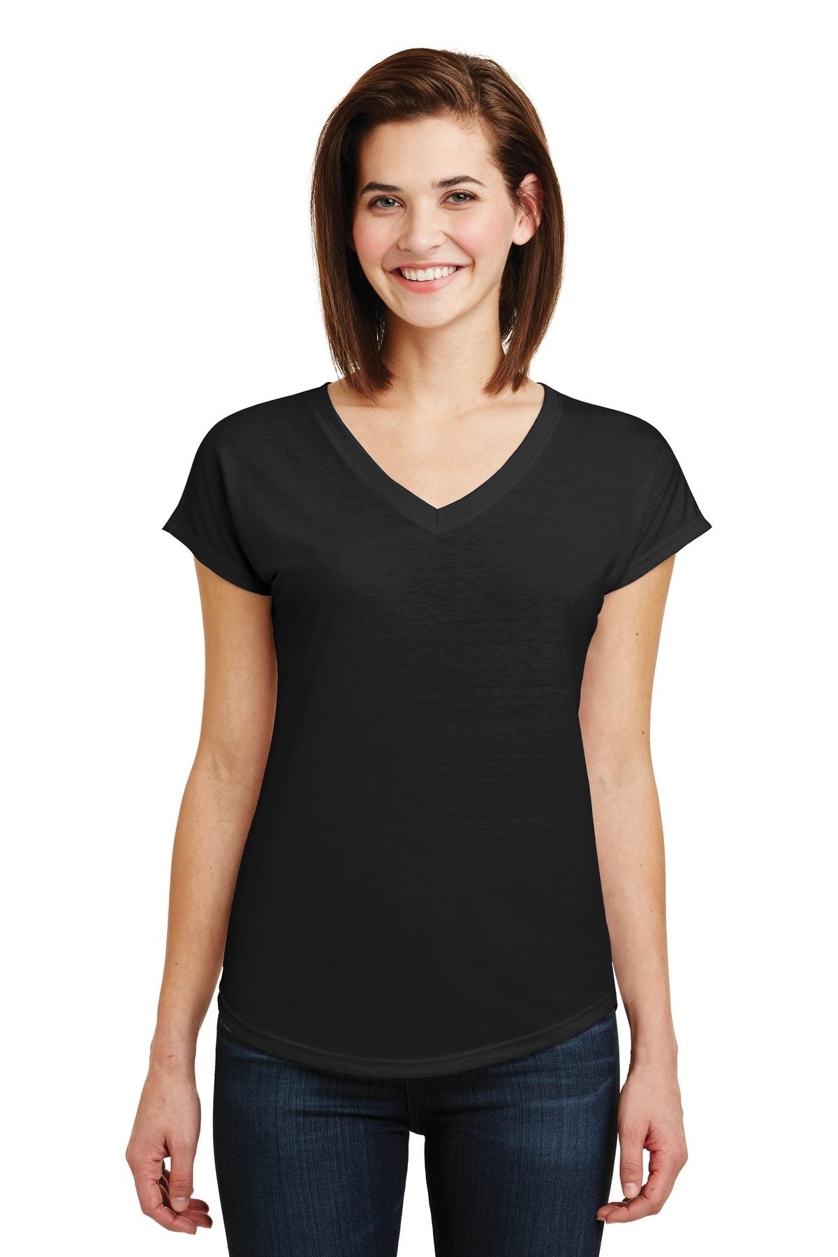b7b4e2042ff4 Anvil ® Ladies Tri-Blend V-Neck Tee. 6750VL – Visual Inception